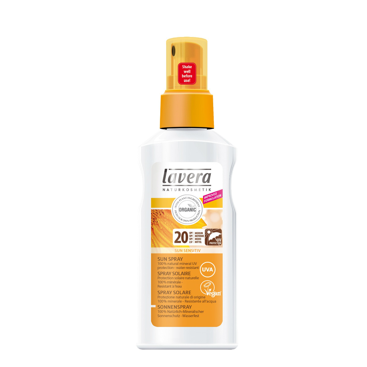 Lavera_SUN_Spray SPF 20 2