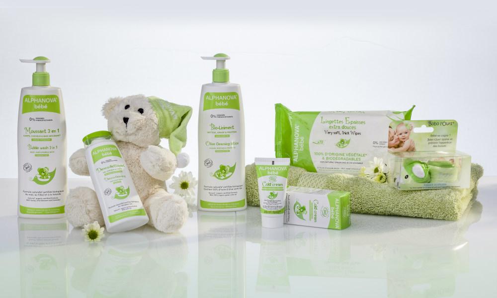 Alphanova baby natuurlijke verzorging