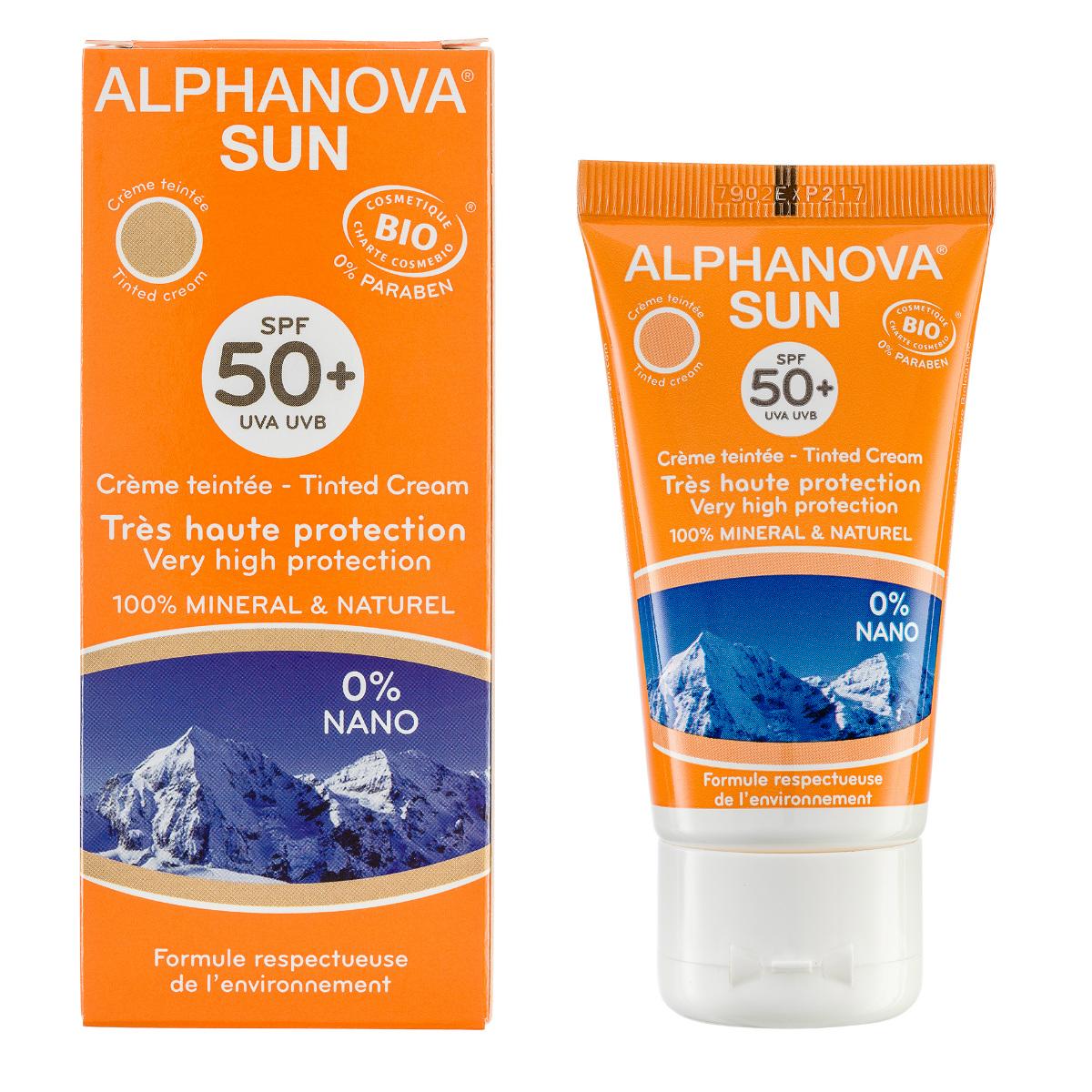 Alphanova sun SPF50+ creme tint winter