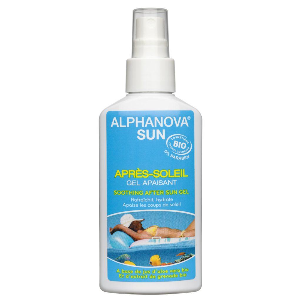 Alphanova SUN natuurlijke zonnebrand