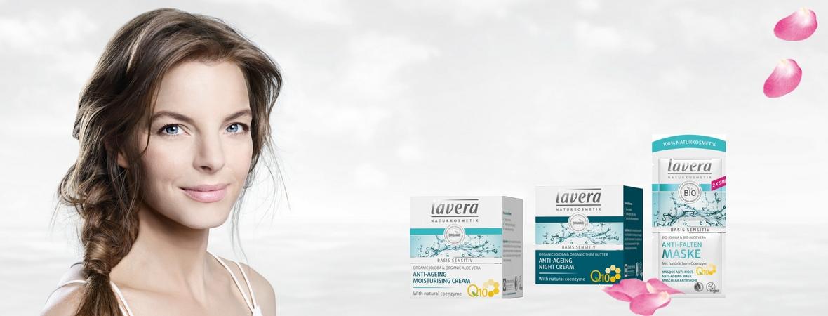 Lavera natuurlijke cosmetica banner 3