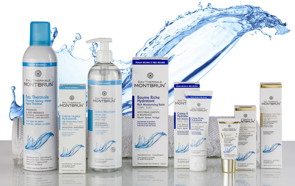 Cosmetica op basis van thermaal water