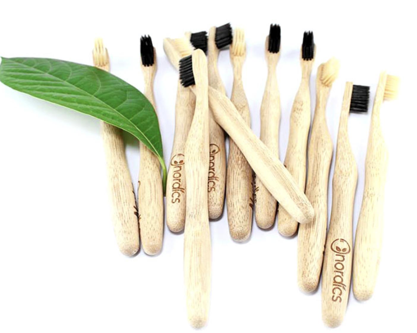 Nordics bamboe tandenborstels