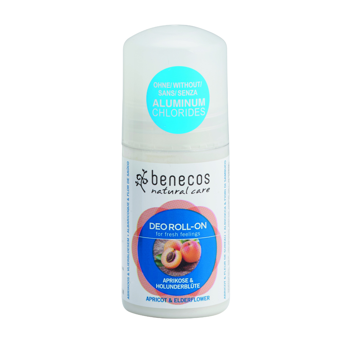 benecos Deo Roll-On Aprikose_Holunderblu¦ête apricot_elderflower hr