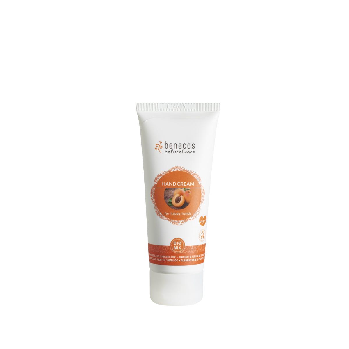 benecos Hand Cream Aprikose_Holunderblu¦ête apricot_elderflower hr