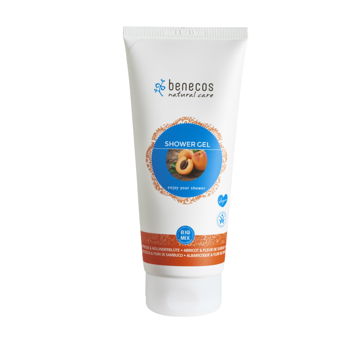 benecos Shower Gel-abrikoos