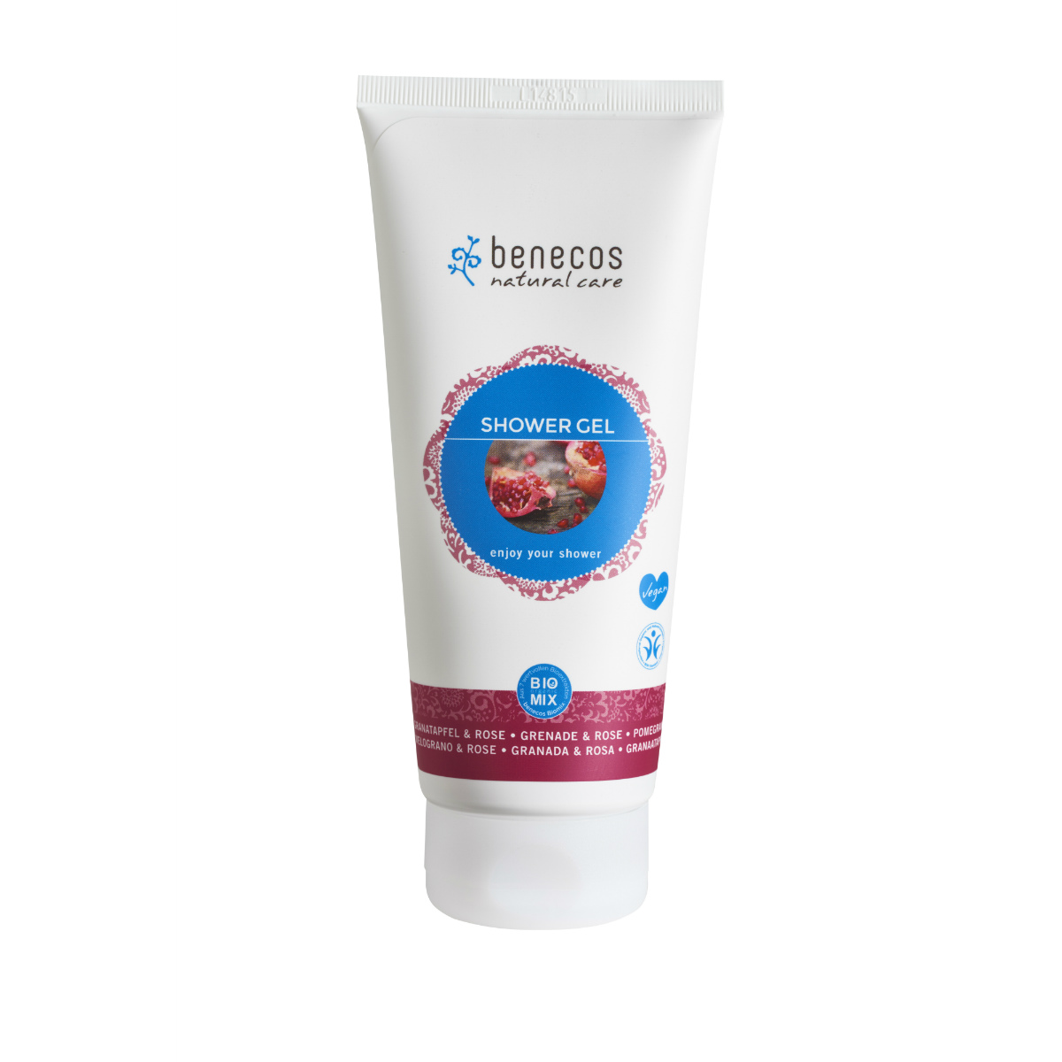 benecos Shower Gel-granaatappel