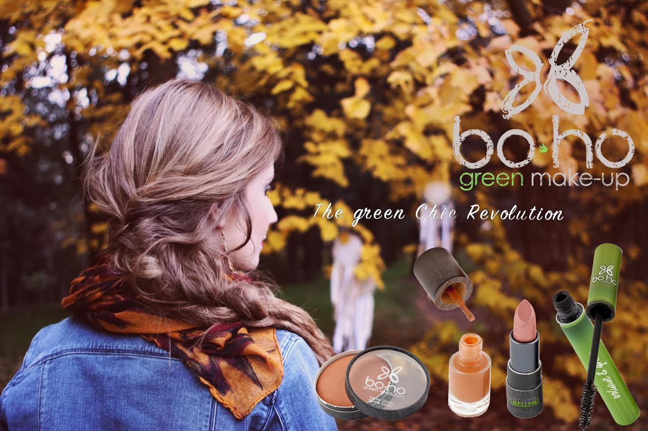 Boho natuurlijke make-up
