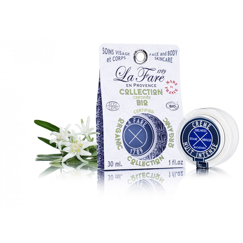 La Fare 1789 night-cream-intense-organic-cosmetic-made-in-france